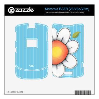 Piel azul de Motorola RAZR V3 V3c V3m de la aleg Motorola RAZR Calcomanías