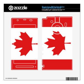 Piel canadiense del teléfono móvil IS04 de Toshiba Skins Para Toshiba REGZA