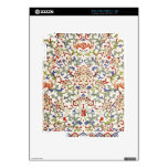 Piel china floral del iPad del modelo iPad 2 Calcomanías