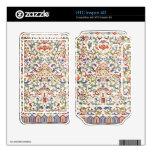 Piel china floral del teléfono del modelo HTC inspire 4G skin