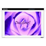 Piel color de rosa púrpura del deslumbramiento Zaz Portátil Skins
