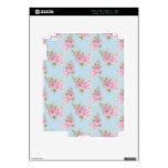 Piel color de rosa rosada iPad 2 calcomanías