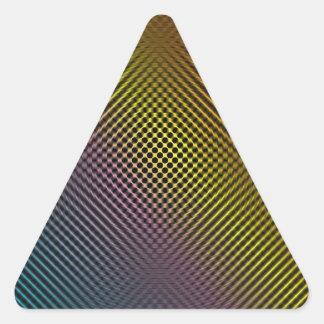 piel coloreada vol.1 de la fibra de carbono calcomanías trianguladas personalizadas