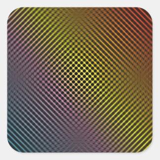 piel coloreada vol.1 de la fibra de carbono colcomanias cuadradas