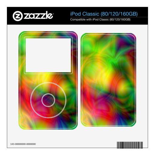 Piel colorida de iPod de la abstracción Calcomanía Para El iPod