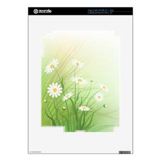 Piel con la imagen de las manzanillas salvajes calcomanía para iPad 2