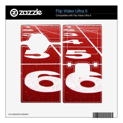 Piel corriente ultra II del vídeo del tirón de la  Flip Ultra II Skins