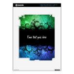 Piel creativa del ipad del diseño iPad 3 pegatinas skins
