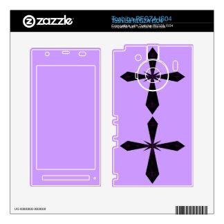 Piel cruzada gótica de Toshiba Toshiba REGZA Calcomanía