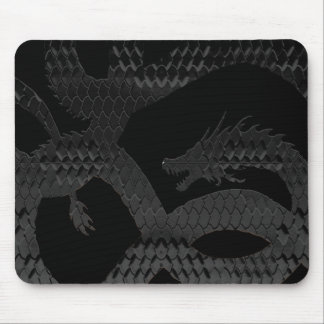 Piel D del dragón Mousepads