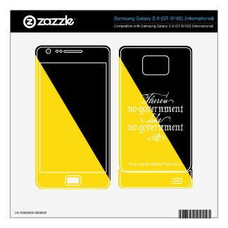 Piel de Ancap Samsung Galaxy S II Skins