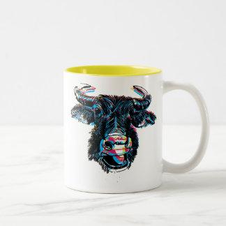 Piel de ante del agua tazas de café