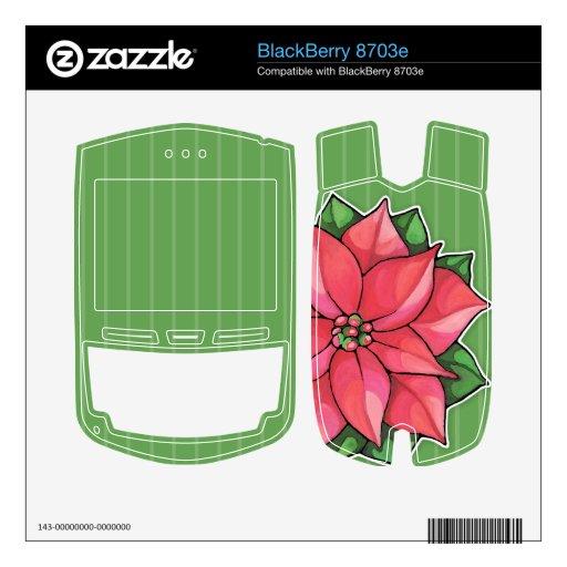 Piel de Blackberry 8703e del verde de la alegría d BlackBerry 8703e Skin