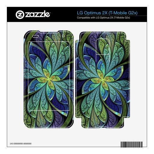 Piel de Chanteuse IV LG Optimus 2X del La LG Optimus 2X Calcomanía