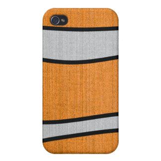 Piel de Clownfish iPhone 4 Carcasas