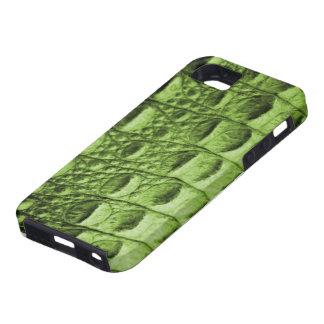 Piel de Croc iPhone 5 Cobertura