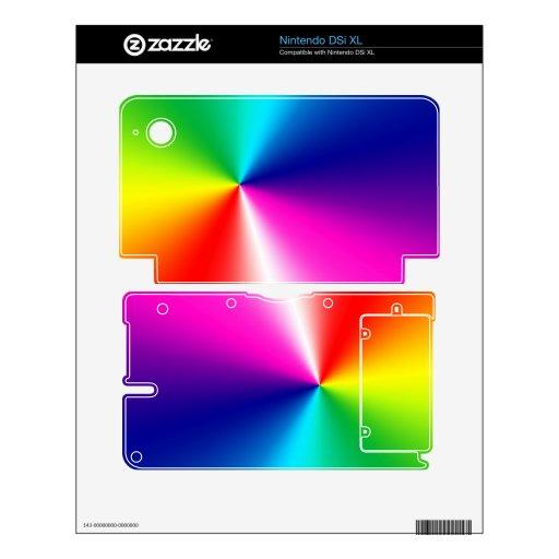 piel de desaparición de la consola de Nintendo DSi Skins Para elDSi XL