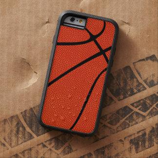 Piel de encargo del baloncesto funda para  iPhone 6 tough xtreme