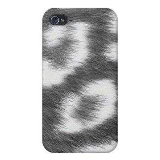 Piel de encargo del guepardo de Africankoko iPhone 4 Cobertura