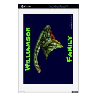 Piel de encargo del Hadrosaur para Sony Playstatio Skin Para laConsola PS3