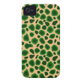 Piel de encargo del leopardo de Africankoko Carcasa Para iPhone 4