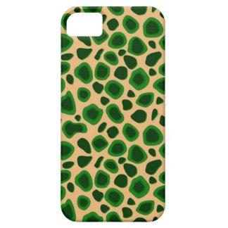 Piel de encargo del leopardo de Africankoko Funda Para iPhone SE/5/5s