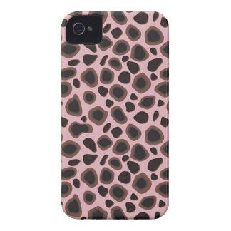 Piel de encargo del leopardo de Africankoko, piel Carcasa Para iPhone 4