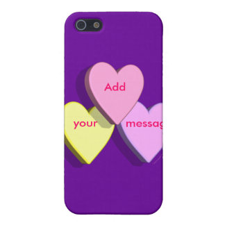 Piel de encargo personalizada del mensaje del cara iPhone 5 carcasas