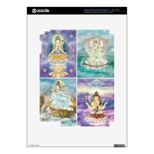 Piel de Guanyin Bodhisatta Ipad Pegatinas Skins Para iPad 3