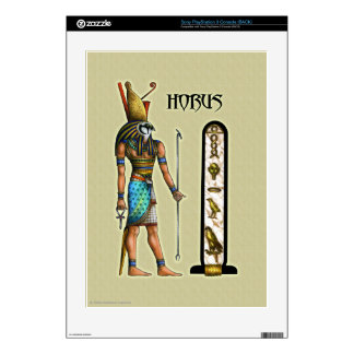 Piel de Horus para la consola de Sony Playstation  Calcomanías Para El PS3