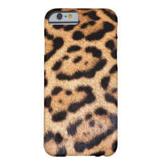 Piel de imitación animal del modelo de Jaguar Funda Barely There iPhone 6