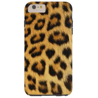 Piel de imitación manchada leopardo, Foto-muestra Funda Resistente iPhone 6 Plus
