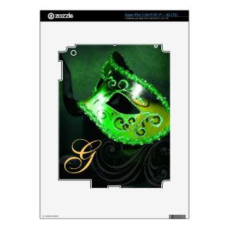 Piel de Ipad de la máscara de la mascarada del ver Pegatina Skin Para iPad 3