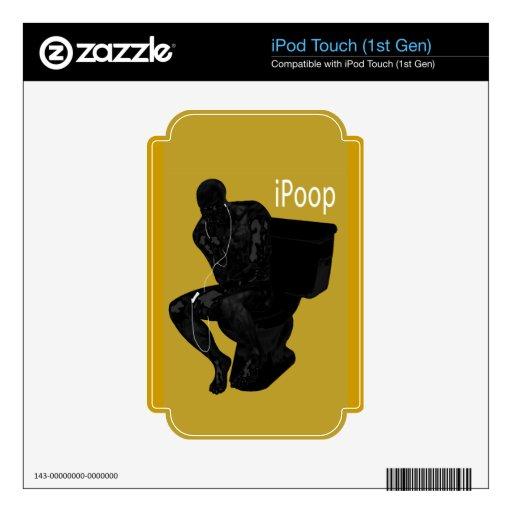piel de IPod del iPoop Skins Para iPod Touch