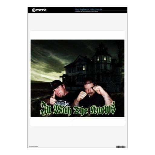 Piel de IWTK PS3 Calcomanías Para PS3 Slim