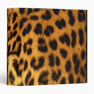 "Piel de Jaguar Carpeta 1 1/2"""