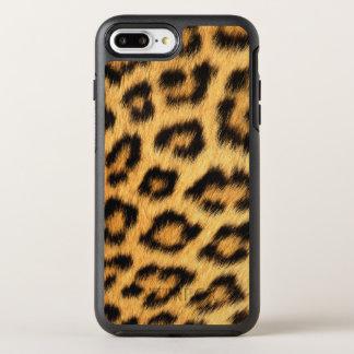 Piel de Jaguar Funda OtterBox Symmetry Para iPhone 7 Plus