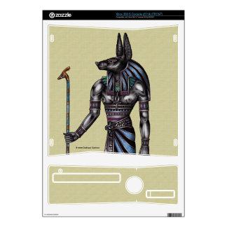 Piel de la consola de Anubis Xbox 360 Consola Xbox 360 S Calcomanía