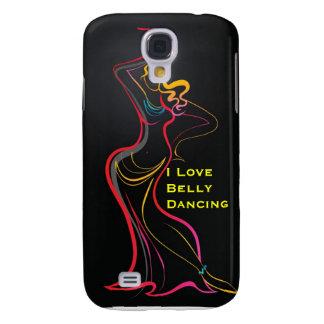 Piel de la danza del vientre para su Samsung S4 Funda Para Galaxy S4
