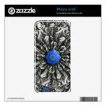 piel de la etiqueta de la mandala iPhone4 de 3D Lo Skins Para eliPhone 4S