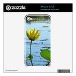 Piel de la etiqueta del iPhone de la flor de Lotus iPhone 4 Skin