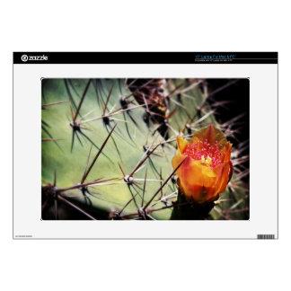 Piel de la flor del cactus portátil skins