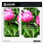 Piel de la flor para el teléfono de Smasung Samsung Galaxy S 4G Calcomanía