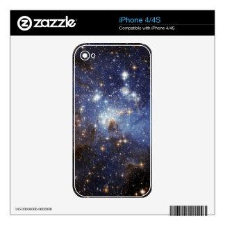 piel de la galaxia del iPhone 4/4s iPhone 4 Calcomanía