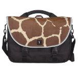 Piel de la jirafa bolsas de portatil