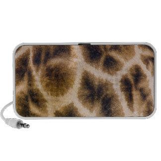 Piel de la jirafa (Giraffa Camelopardalis) iPod Altavoces