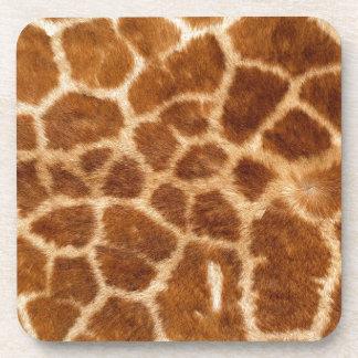 Piel de la jirafa posavaso