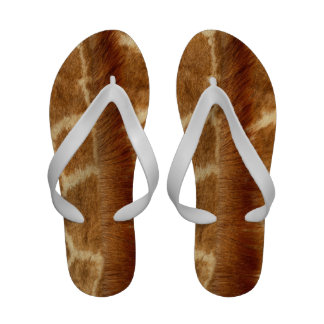 Piel de la jirafa sandalias