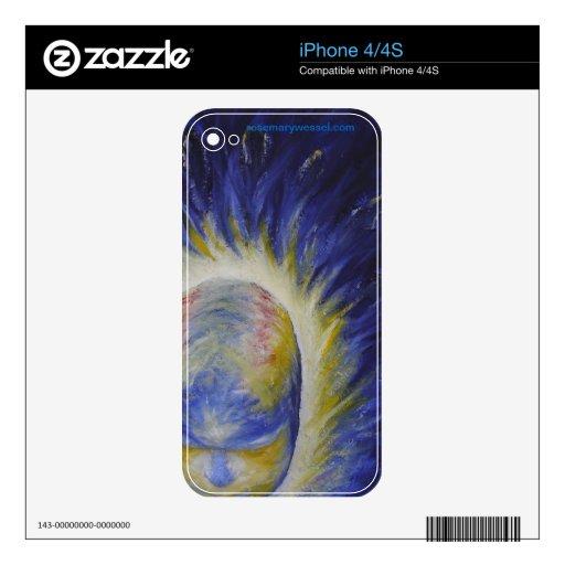 """Piel de la """"mente vigilante"""" para el iPhone 4/4S iPhone 4S Skin"""