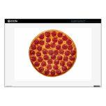 Piel de la pizza para el ordenador portátil portátil calcomanías